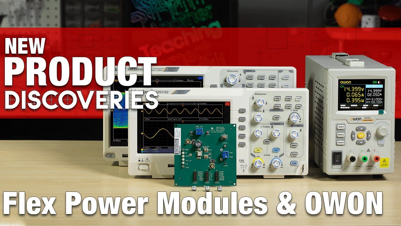 Image of New Product Discoveries - Flex Power Modules PMU8000 PoL Converter and Owon Technology